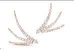 18 K Rose Gold Luna Trois by JADE TRAU for Preorder on Moda Operandi