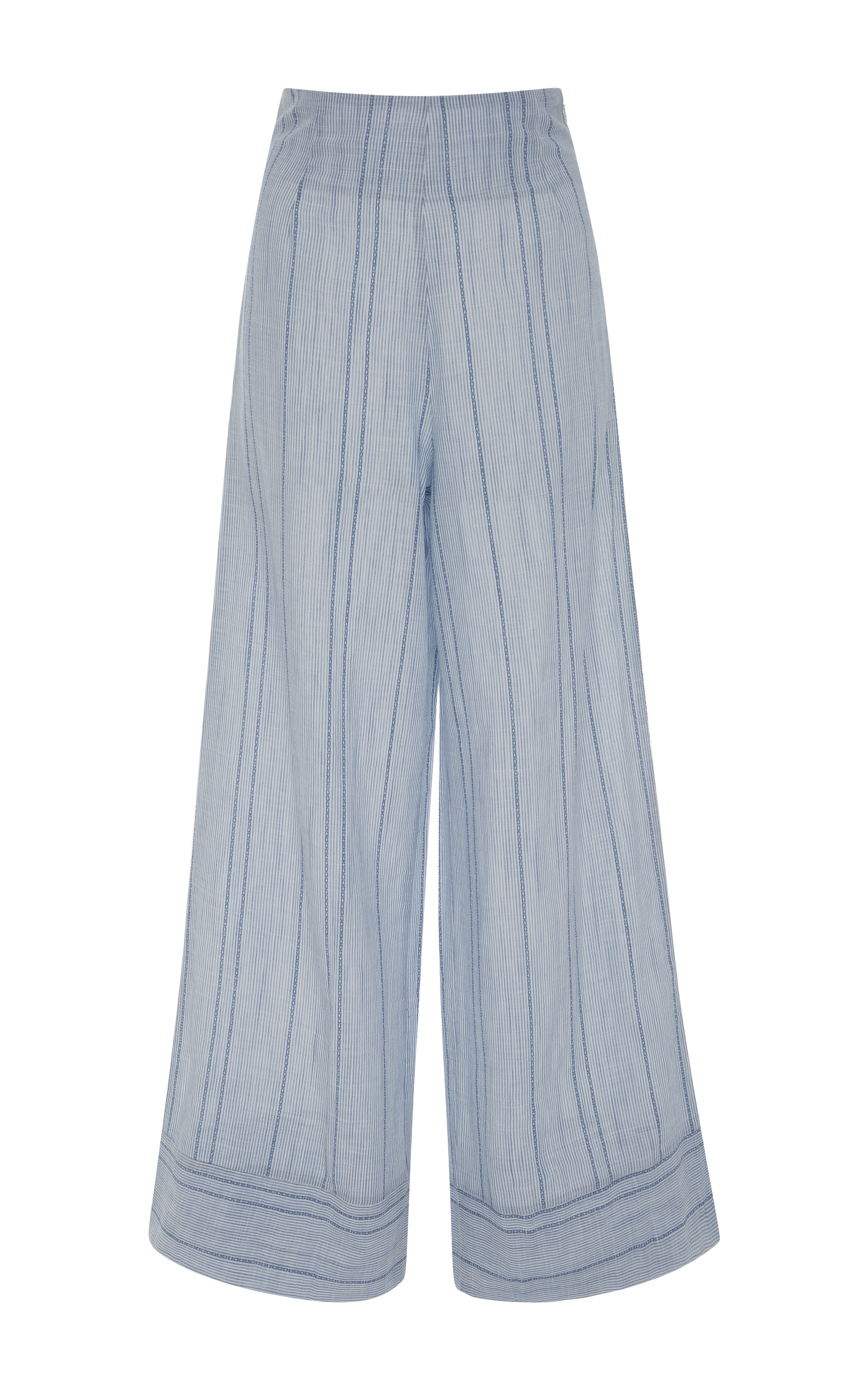How To Frame A Shirt >> Striped Wide-Leg Pants by Solid & Striped | Moda Operandi