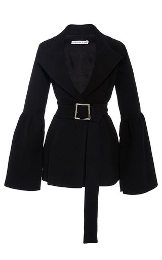 Medium rejina pyo black the claire bonded seersucker blazer