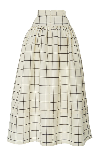The Freya A Line Skirt by REJINA PYO for Preorder on Moda Operandi