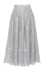 The Freya A Line Fringe Skirt by REJINA PYO for Preorder on Moda Operandi