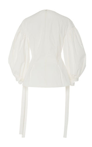 The Maddie Puff Sleeve Blouse by REJINA PYO for Preorder on Moda Operandi