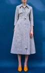 The Belle Long Sleeve Fitted Coat by REJINA PYO for Preorder on Moda Operandi