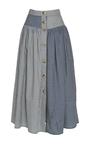 The Freya Button Skirt by REJINA PYO for Preorder on Moda Operandi