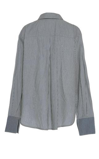 The Annie Ruffle Detail Shirt by REJINA PYO for Preorder on Moda Operandi