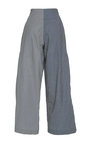 The Ava Stripe Belted Trousers by REJINA PYO for Preorder on Moda Operandi