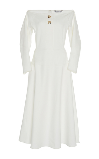 The Mina Bateau Dress by REJINA PYO for Preorder on Moda Operandi