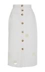 The Josie Front Button Pencil Skirt by REJINA PYO for Preorder on Moda Operandi