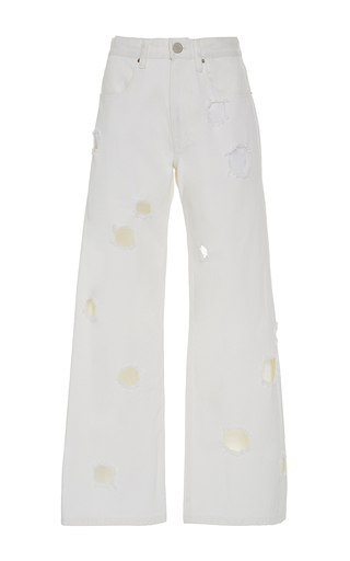 Medium rejina pyo white the mia boyfriend fit jeans 2