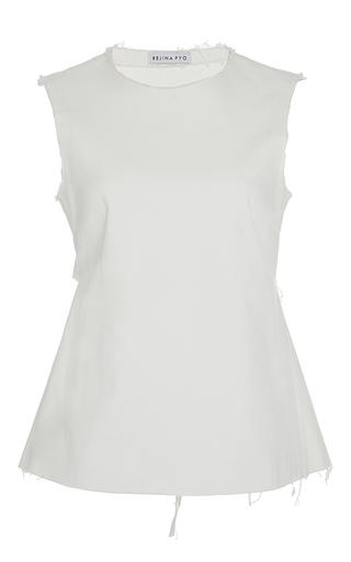 The Alexa Sleeveless Tie Back Top by REJINA PYO for Preorder on Moda Operandi