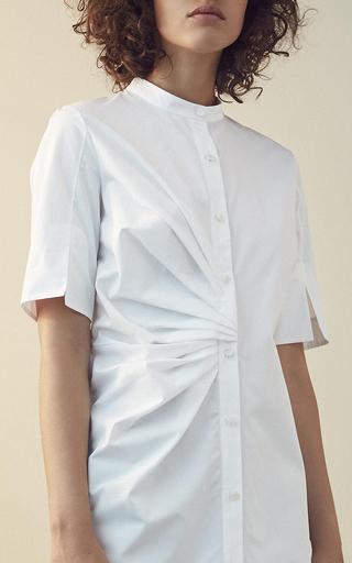 Sabina Short Sleeve Shirt Dress by NELLIE PARTOW for Preorder on Moda Operandi
