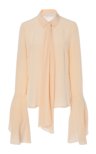 Medium nellie partow pink keegan blouse