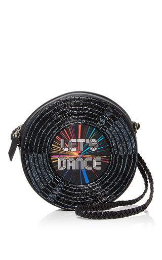 Medium sarah s bag black surround let s dance crossbody