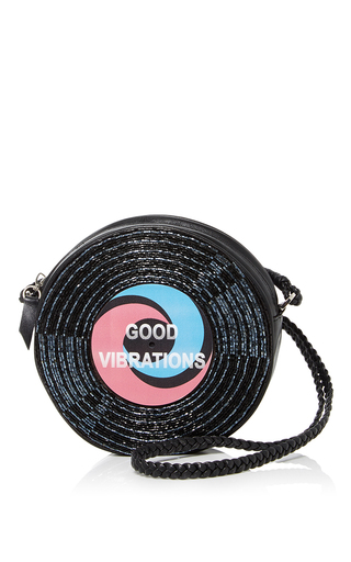 Medium sarah s bag black surround good vibrations crossbody