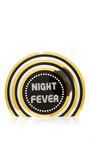 Vinyl Perspex Night Fever Clutch by SARAH'S BAG for Preorder on Moda Operandi