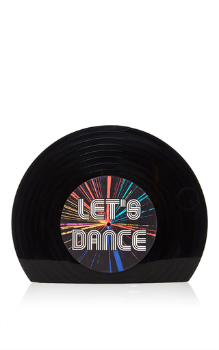 Vinyl Let's Dance Clutch by SARAH'S BAG for Preorder on Moda Operandi