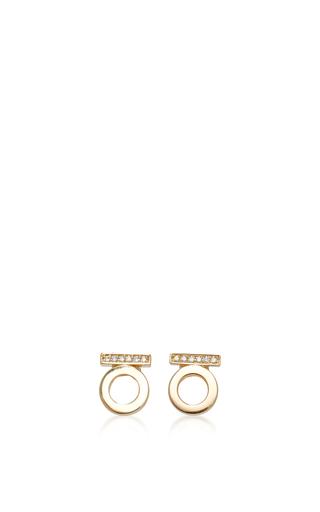 Medium efva attling gold 18k yellow gold ten stars earring