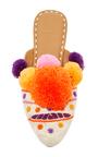 Orange Iris Slide by FIGUE for Preorder on Moda Operandi