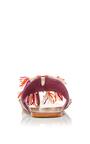 Purple Zola Sandal by FIGUE for Preorder on Moda Operandi