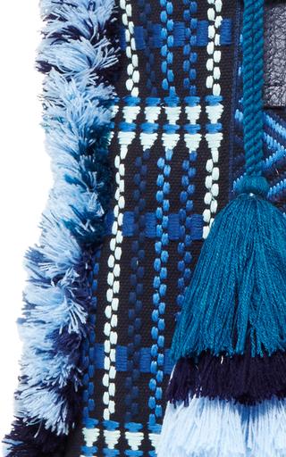 Blue Sangita Weekender by FIGUE for Preorder on Moda Operandi