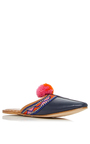 Navy Terra Slide by FIGUE for Preorder on Moda Operandi