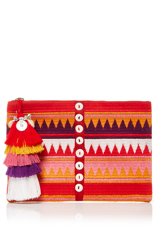 Tova Zip Pouch by FIGUE for Preorder on Moda Operandi