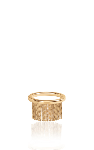 Medium jack vartanian gold love ny fringe ring in yellow gold