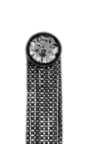 Love Ny Xl Diamond Fringe Earrings In White Gold And Black Rhodium With Diamonds by JACK VARTANIAN for Preorder on Moda Operandi