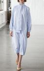 Tie Neck Check Dress by SAKS POTTS for Preorder on Moda Operandi
