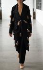 Hay Mink Embellished Coat by SAKS POTTS for Preorder on Moda Operandi