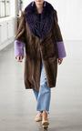 Bolette Fox Collar Coat by SAKS POTTS for Preorder on Moda Operandi