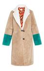 Febbe Babette Color Block Coat by SAKS POTTS for Preorder on Moda Operandi
