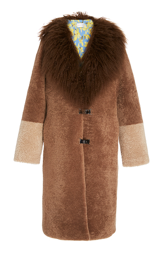 Febbe Bertha Full Collar Coat by SAKS POTTS for Preorder on Moda Operandi