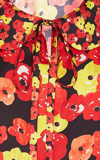 Tomato Floral Print Blouse by SAKS POTTS for Preorder on Moda Operandi