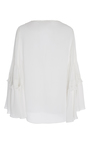 Lace Up Poet Top by FIGUE for Preorder on Moda Operandi