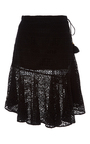 Mariana Lace Skirt by FIGUE for Preorder on Moda Operandi