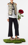Tassel Cropped Matador Pant by FIGUE for Preorder on Moda Operandi