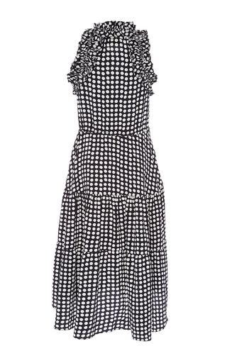 Sleeveless Dot Print Dress by FIGUE for Preorder on Moda Operandi