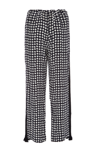Cropped Cova Pants by FIGUE for Preorder on Moda Operandi