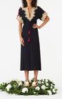 Embroidered Naya Midi Dress by FIGUE for Preorder on Moda Operandi