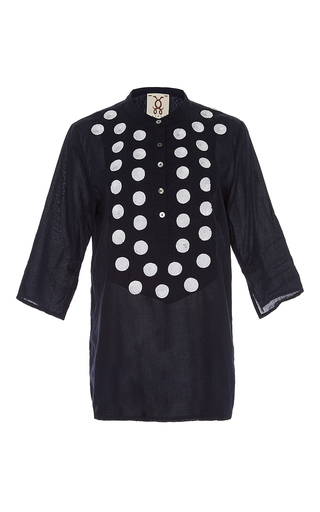 Sequin Embellished Jasmine Tunic by FIGUE for Preorder on Moda Operandi