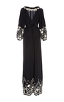 Embroidered Lola Maxi Dress by FIGUE for Preorder on Moda Operandi
