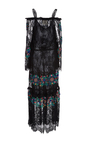 Embroidered Noelle Lace Dress by FIGUE for Preorder on Moda Operandi