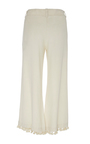 Natural Tassel Cropped Matador Pant by FIGUE for Preorder on Moda Operandi