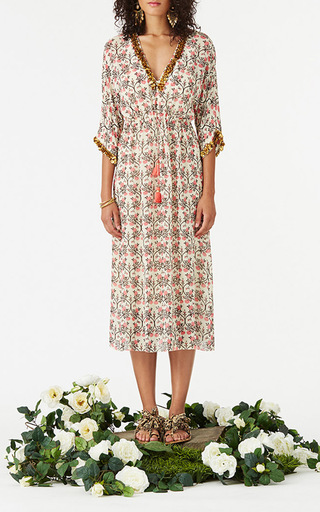 Embellished Calista Dress by FIGUE for Preorder on Moda Operandi