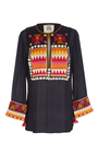 Embroidered Lisbette Tunic by FIGUE for Preorder on Moda Operandi