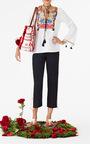 Embroidered Renata Tunic by FIGUE for Preorder on Moda Operandi