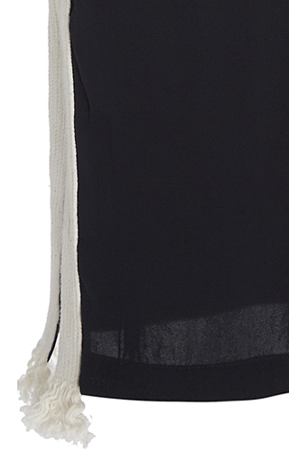 Side Stripe Cropped Cova Pants by FIGUE for Preorder on Moda Operandi