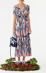 Printed Kalila Dress by FIGUE for Preorder on Moda Operandi