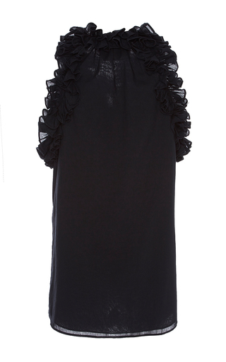 Ruffle Fabiana Top by FIGUE for Preorder on Moda Operandi